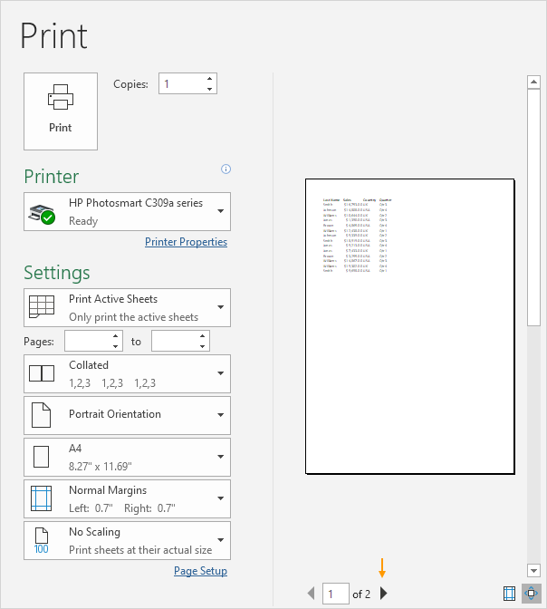 Printables Print Worksheet print in excel easy tutorial preview
