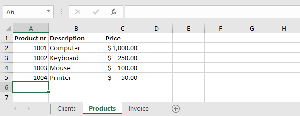 Automated Invoice In Excel Easy Excel Tutorial - How to design an invoice in excel