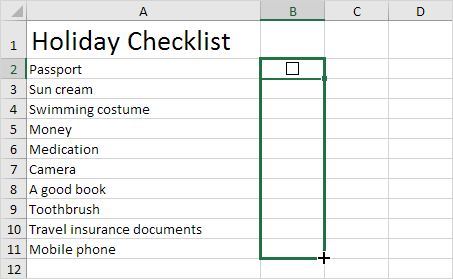 Office Supply Checklist Template Excel from www.excel-easy.com