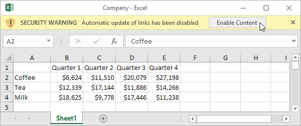 External References in Excel - Easy Excel Tutorial