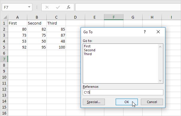 Function Keys in Excel - Easy Excel Tutorial