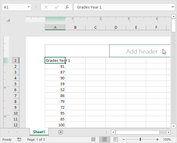 Headers and Footers in Excel - Easy Excel Tutorial