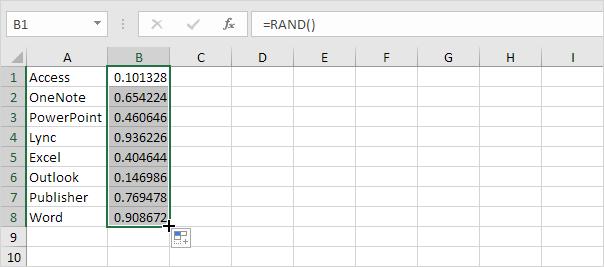 Randomize a List in Excel - EASY Excel Tutorial
