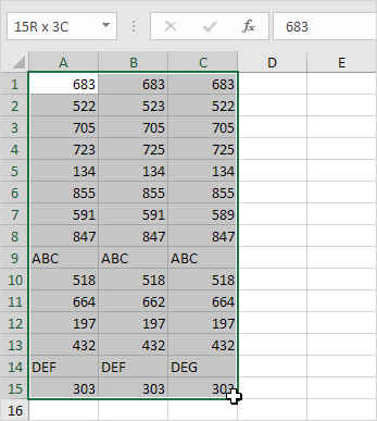 Highlight Row Differences in Excel - Easy Excel Tutorial