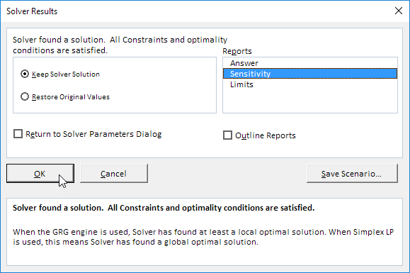sensitivity analysis in excel easy excel tutorial