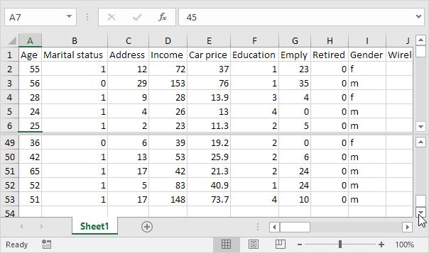 Split Worksheets in Excel - Easy Excel Tutorial