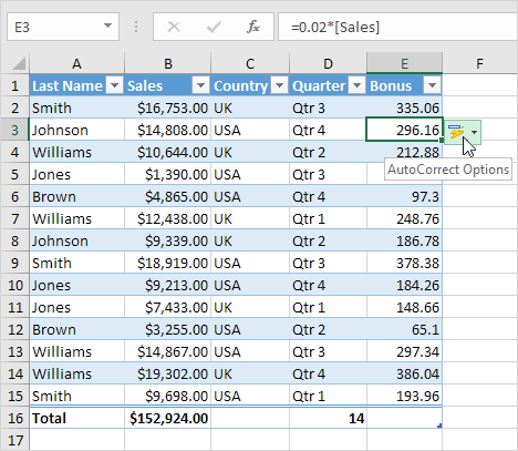 how to create a formula in excel