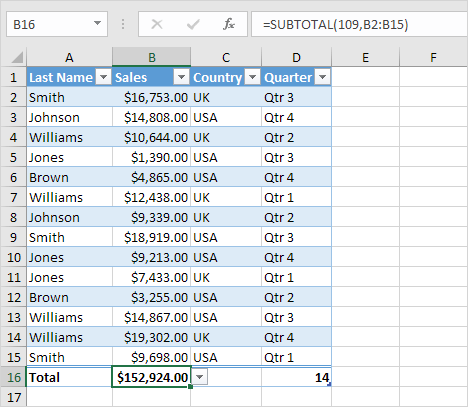 structured references in excel easy excel tutorial