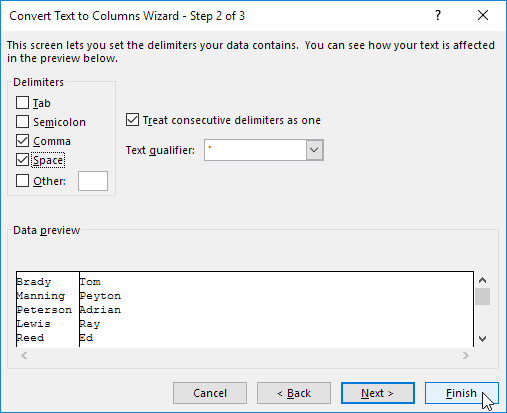 Text to Columns in Excel - Easy Excel Tutorial