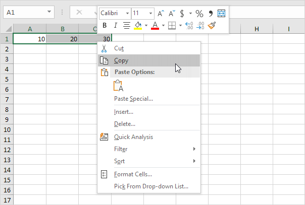 Transpose Data in Excel - Easy Excel Tutorial