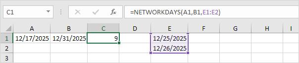 date add 7 days excel