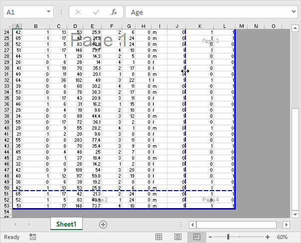 Page Break 2010 Excel Page Break Preview in Excel