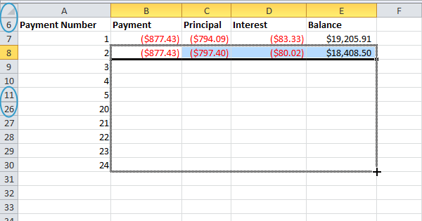 how to create an amortization schedule in excel 2013