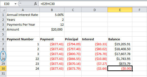 Loan Amortization Schedule in Excel EASY Excel Tutorial – Loan Amortization Schedule Excel