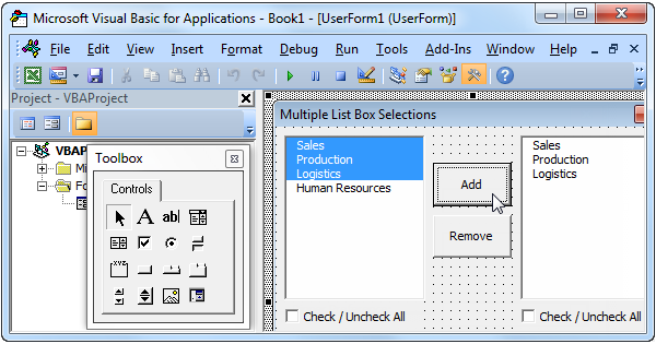 Multiple selections drop down input mt4