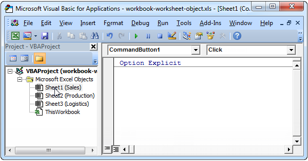 Excel VBA Workbook and Worksheet Object EASY Excel Macros – Vba Worksheet