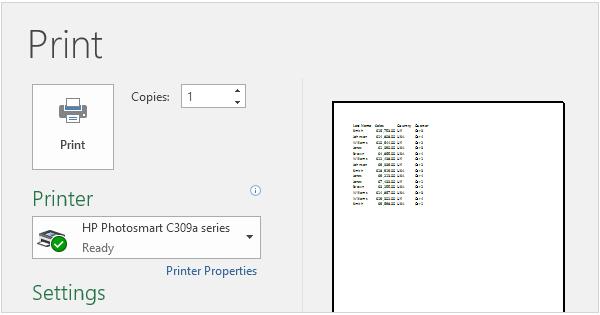 Print in Excel - Easy Excel Tutorial
