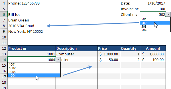 Excel Easy  How To Make An Invoice On Excel