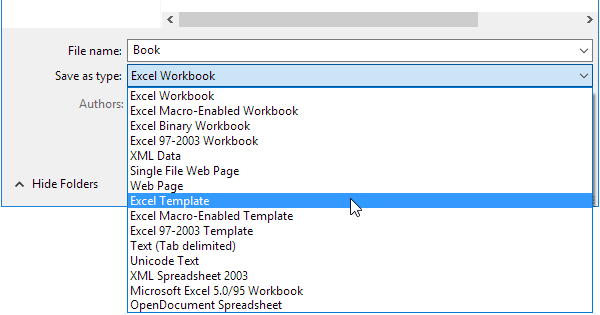 templates for microsoft excel