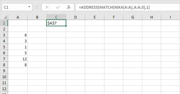 Locate Maximum Value in Excel - Easy Excel Tutorial
