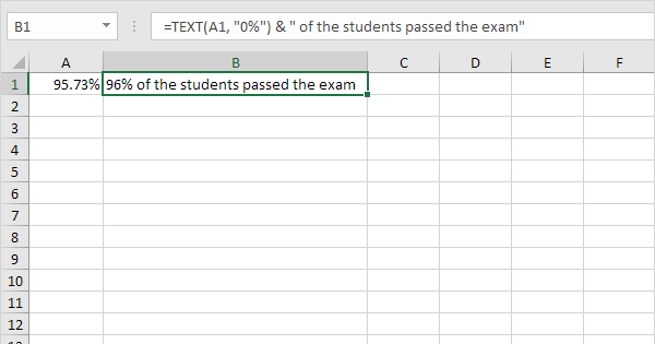Convert Numbers to Text in Excel - Easy Excel Tutorial