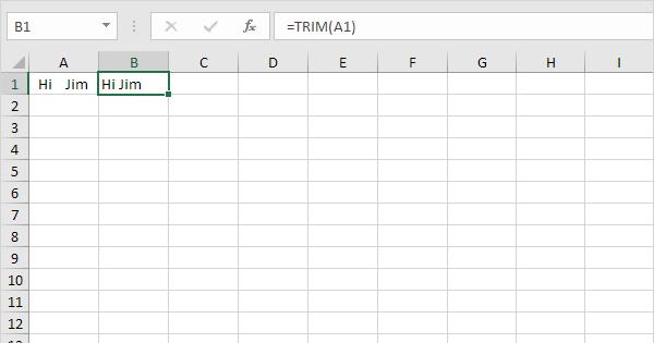 Remove Spaces in Excel - Easy Excel Tutorial