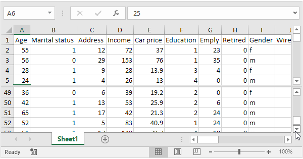 Split Worksheets in Excel - Easy Excel Tutorial