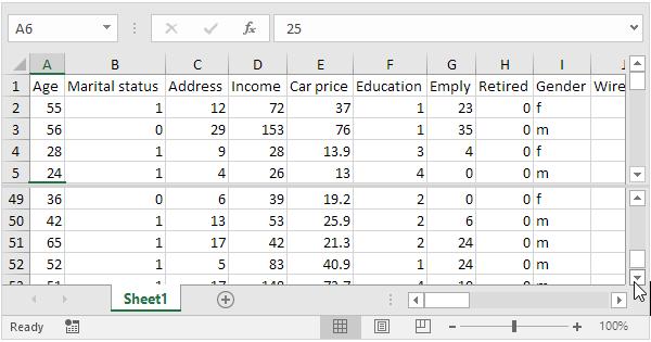 Split Worksheets In Excel Easy Excel Tutorial