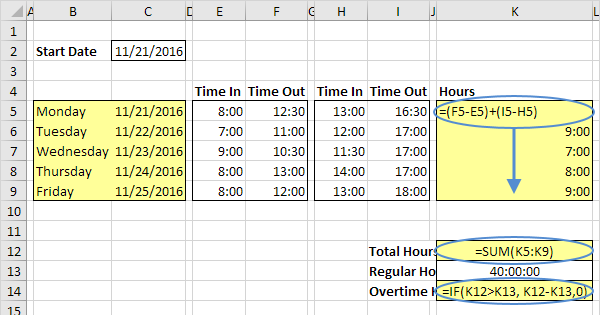 Automatically calculate formulas excel 2010 10