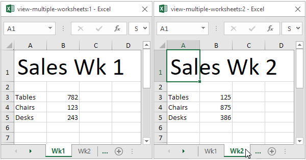Multiple Worksheets In Excel Worksheets for all | Download and ...