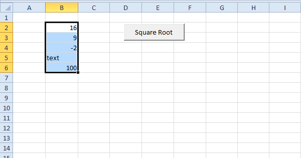 excel vba err object