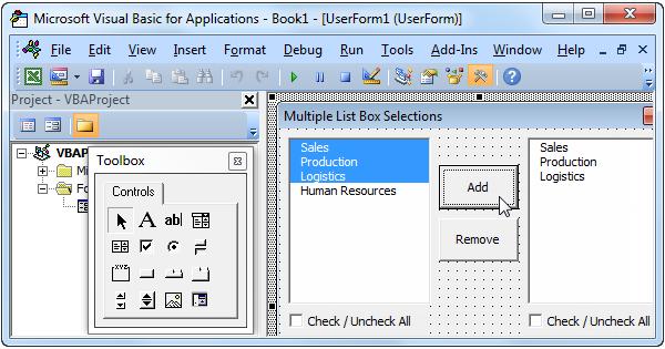 Multiple List Box Selections in Excel VBA - Easy Excel Macros