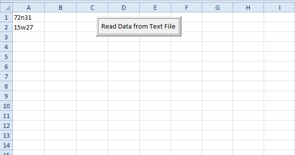 Read data from a text file using excel vba easy excel macros ibookread ePUb