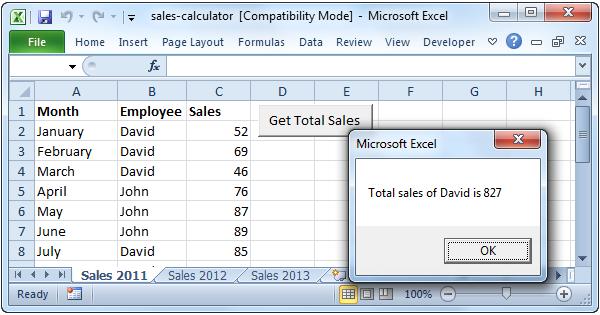 Sales Calculator in Excel VBA - Easy Excel Macros