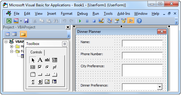 Excel VBA Userform - Easy Excel Macros