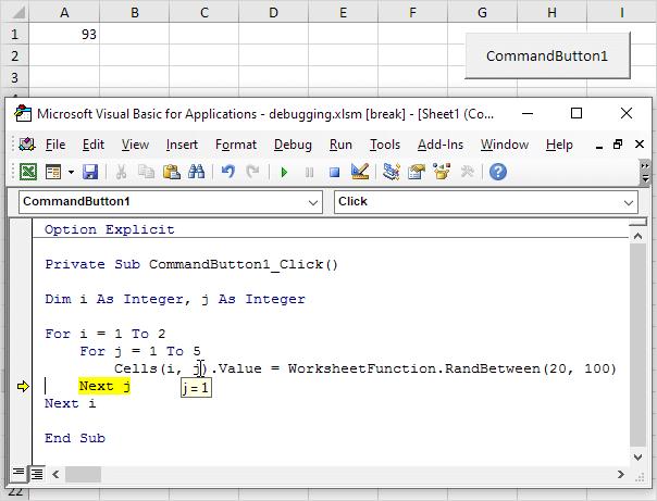 Debugging in Excel VBA - Easy Excel Macros