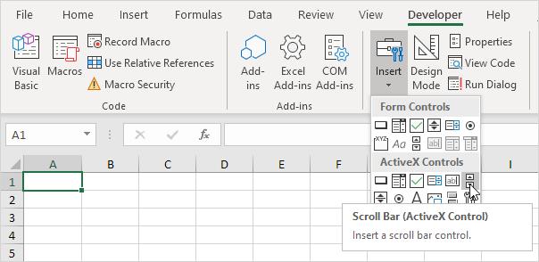 Loan Calculator In Excel Vba Easy Macros. Create Scroll Bars. Worksheet. Worksheet Calculate Event At Clickcart.co