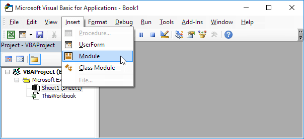 Run code from a module in excel vba easy excel macros insert module ibookread ePUb