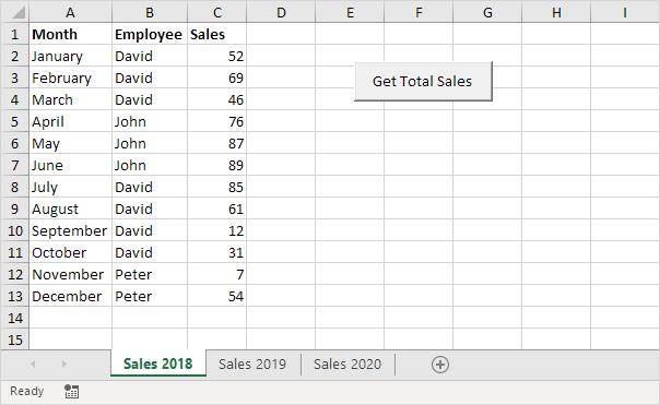 sales calculator in excel vba easy excel macros